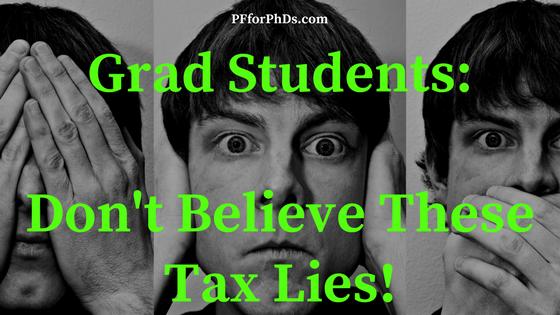 grad student tax lie