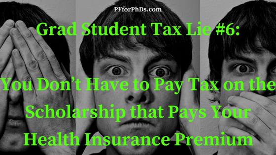 scholarship health insurance tax