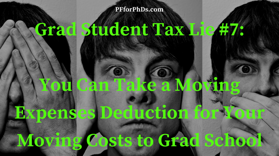 grad student moving deduction