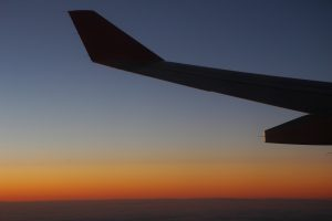 airplanesunset