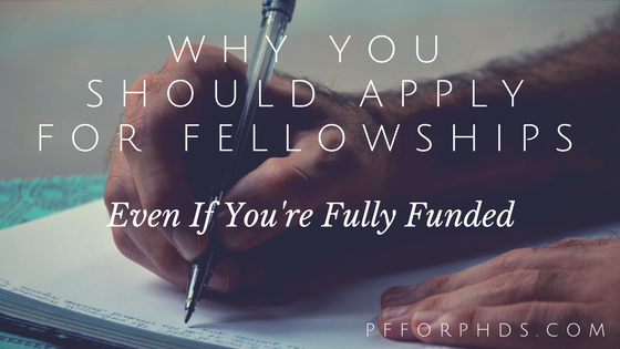 apply for fellowships