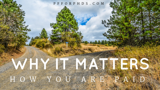 why it matter how you are paid