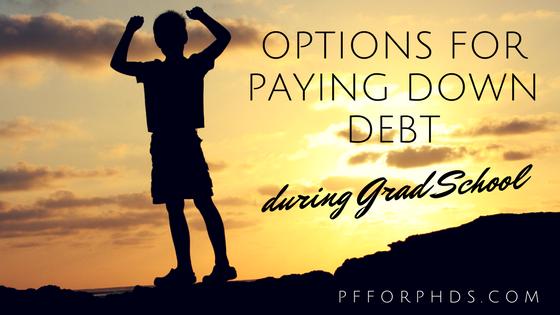 debt repayment grad school