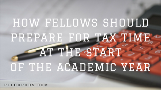 fellowship tax September