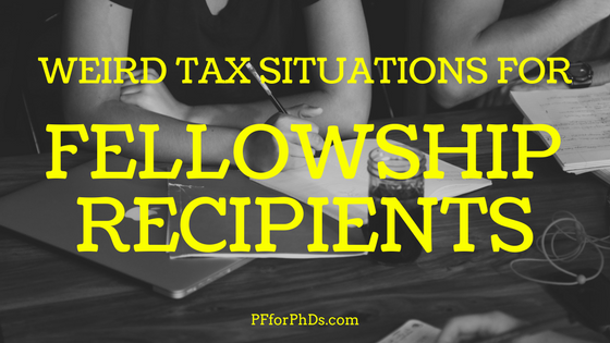 weird tax fellowship