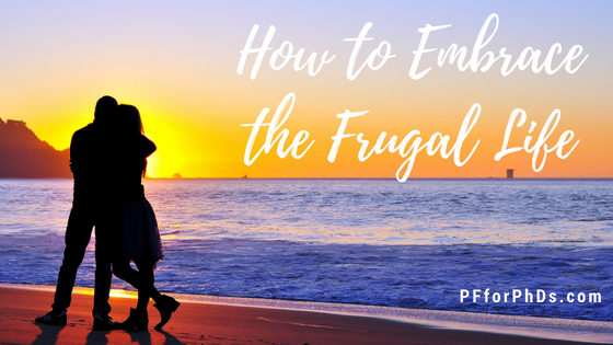 embrace frugal life