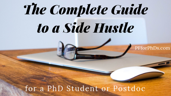side hustle PhD postdoc