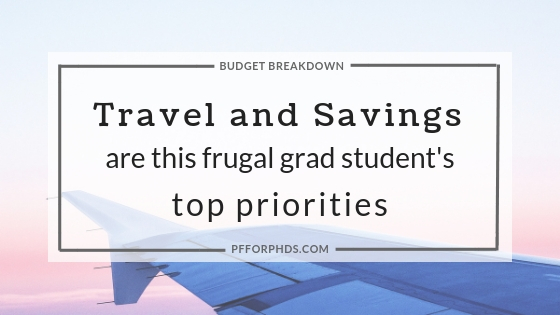 frugal grad student travel saving