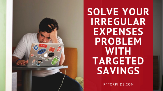 solve irregular expenses