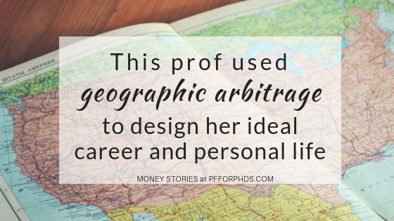 geographic arbitrage PhD