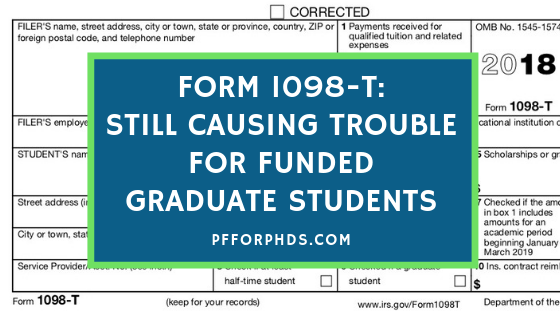 1098-T problems