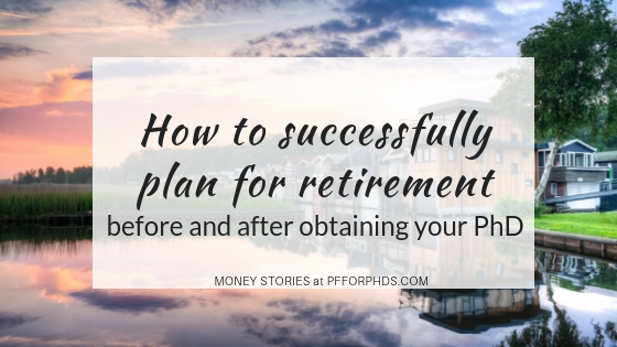 PhD plan for retirement