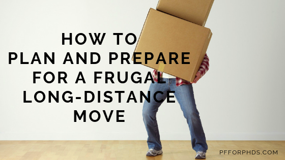 frugal long-distance move