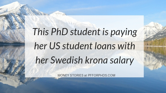 student loan repayment from Sweden