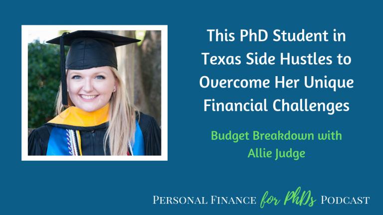 grad student unique financial challenges