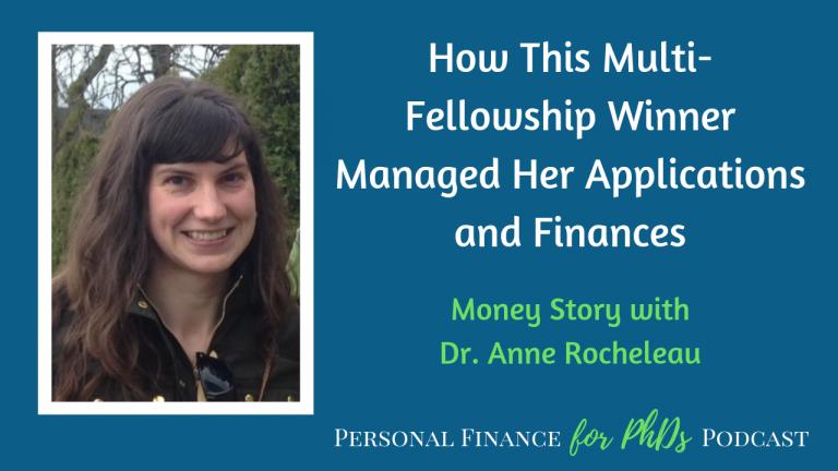 fellowship award finances