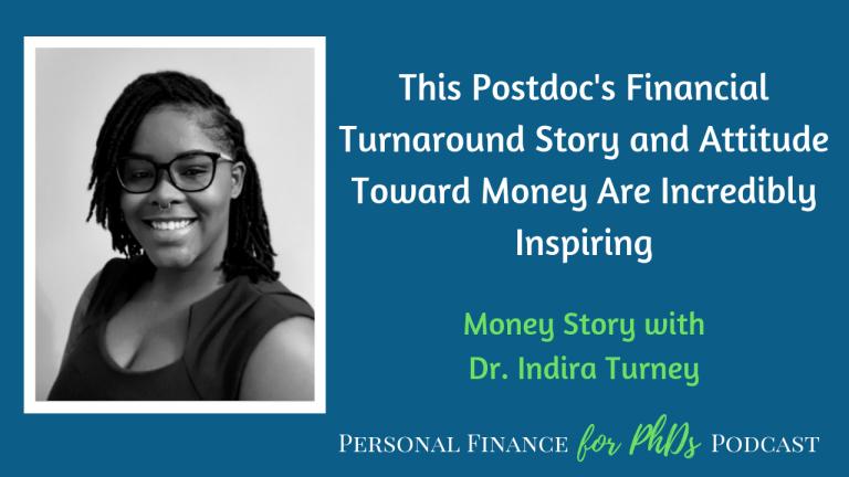 PhD financial turnaround