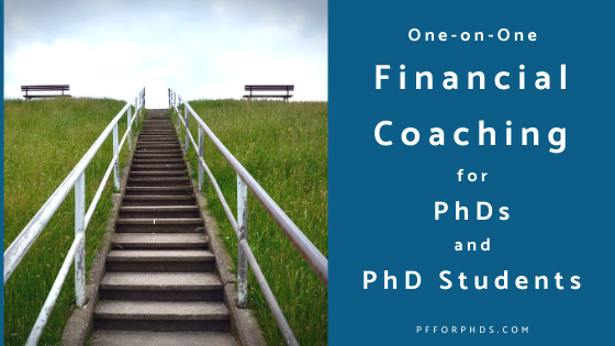 financial coaching for PhDs