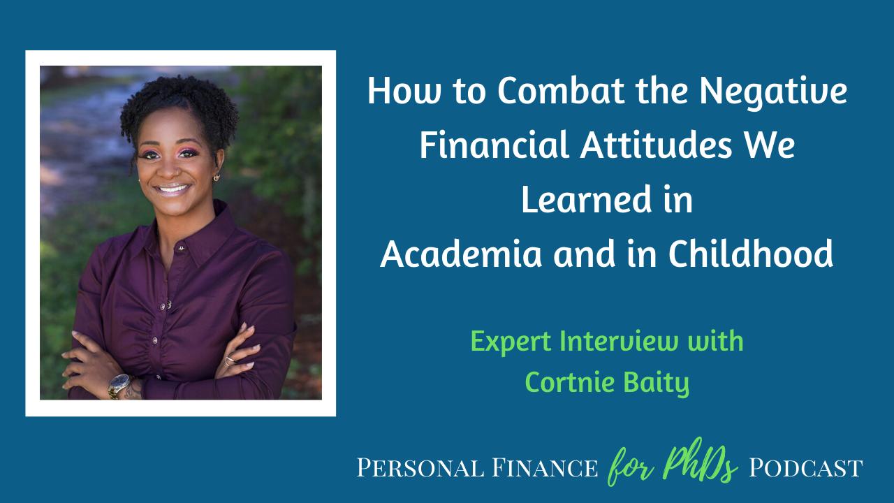 financial attitudes academia