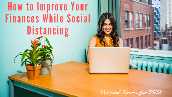 social distancing finances