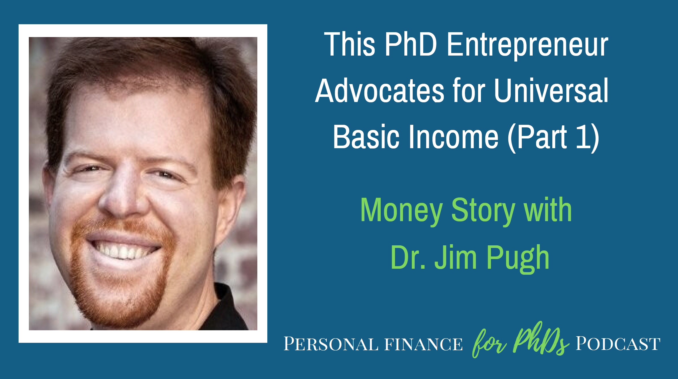 PhD entrepreneur basic income