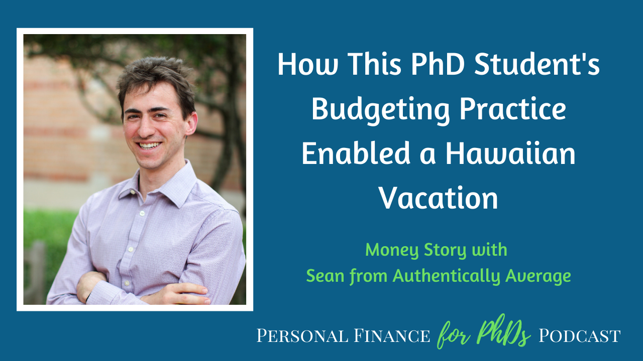 budgeting for travel on a grad student stipend