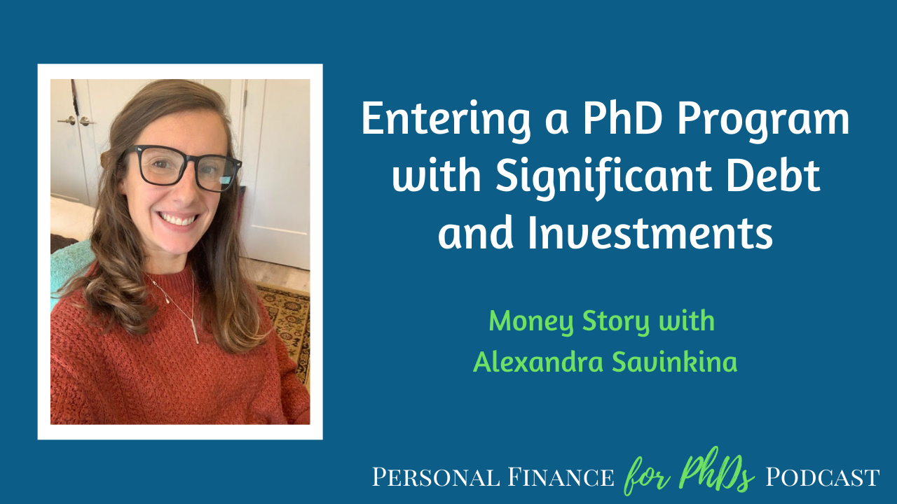 PhD debt and investments