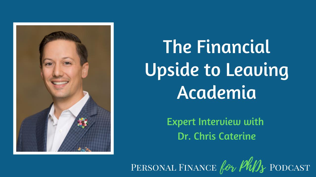 financial upside to leaving academia